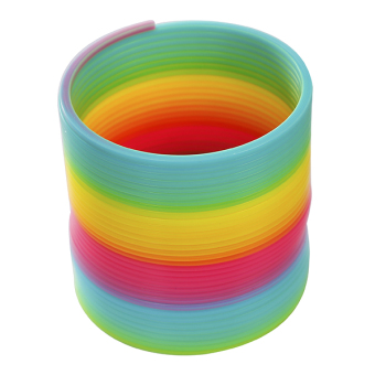 Rings baby telescopic stretch ring Rainbow Ring