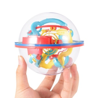 SaiDeng Intellect 3D Maze Ball Best Gift(Colors may vary) - intl