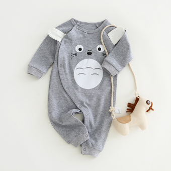 Spring and Autumn climbing clothes baby coveralls