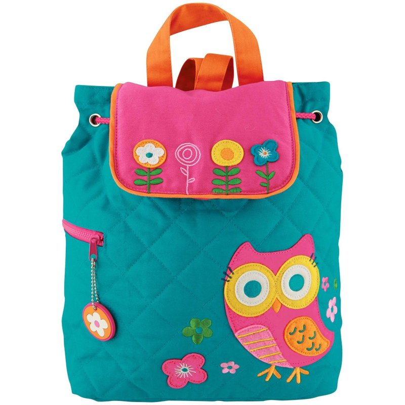 Stephen Joseph Quilted Backpack (Owl)