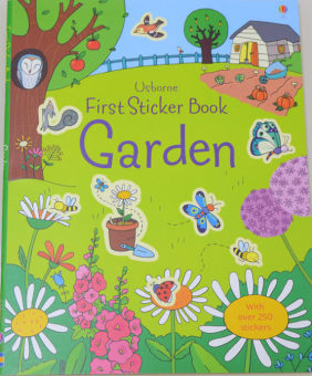 Sticker book children's English car stickers book