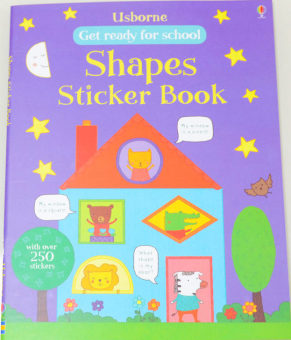Sticker theme children English car stickers BENSE.O stickers book