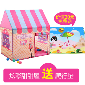 Tent children play house toy house Snnei baby tent toys girlprincess room boy small tent home