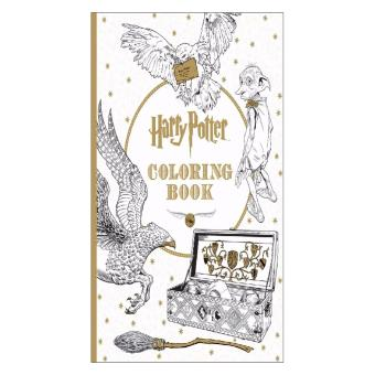 Harga Themed Colouring Book (Harry Potter)