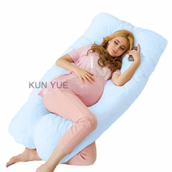Harga U Shaped - Full Support - Pregnancy Pillow - 140x80x20cm - intl