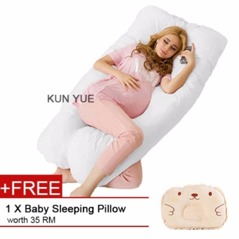 Harga U Shaped Maternity/Pregnancy Body Pillow