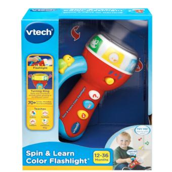 Harga VTech Spin and Learn Color Flashlight