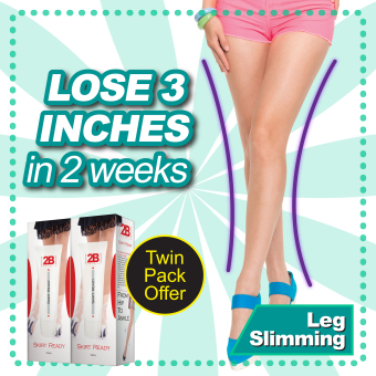 2B Alternative Skirt Ready Slimming Lotion 2 x 120ml
