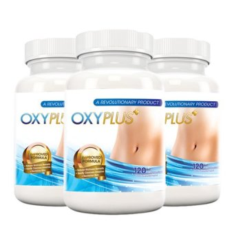 3-Pack OxyPlus 2.0 100% Natural Flatter Tummy Food Supplement 120 capsules