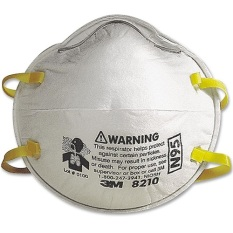 Buy 3M Dust Particulate Respirator 8210 N95 Masks (20-pieces
