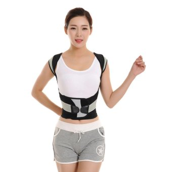 Harga Babaka Posture Correction Vest Braces & Back Support Belt XXL -intl