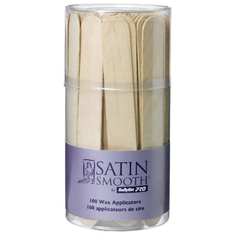 Buy Babyliss Pro Satin Smooth Wax Applicators - Pack of 100 Singapore