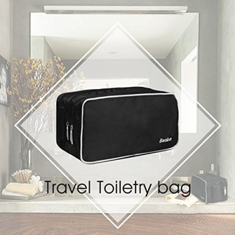 Buy Becko Travel Toiletry Dopp Kit Travel Shaving Grooming Bag with Carry Handle for Men and Women - intl Singapore