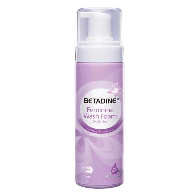 Buy Betadine Feminine Wash Foam 100ml Singapore