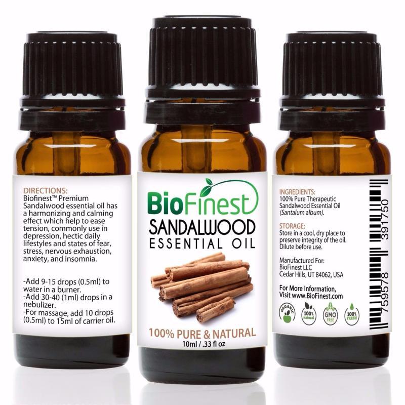 Buy Biofinest [2 Packs] Sandalwood Essential Oil (100% Pure Therapeutic Grade) 10ml Singapore