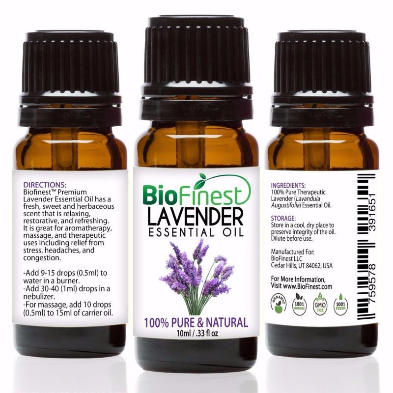 Buy Biofinest [3 Packs] Lavender Essential Oil (100% Pure Therapeutic Grade) 10ml Singapore