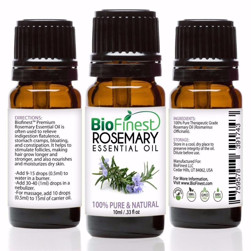 Buy Biofinest [3Packs] Rosemary Essential Oil (100% Pure Therapeutic Grade) 10ml Singapore