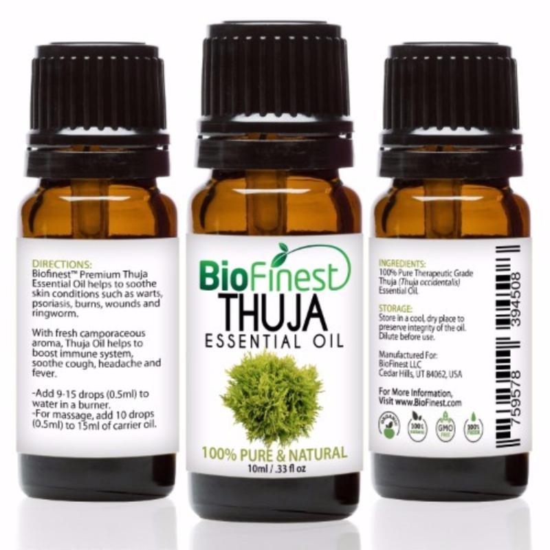 Buy Biofinest Thuja Essential Oil (100% Pure Therapeutic Grade) 10ml Singapore