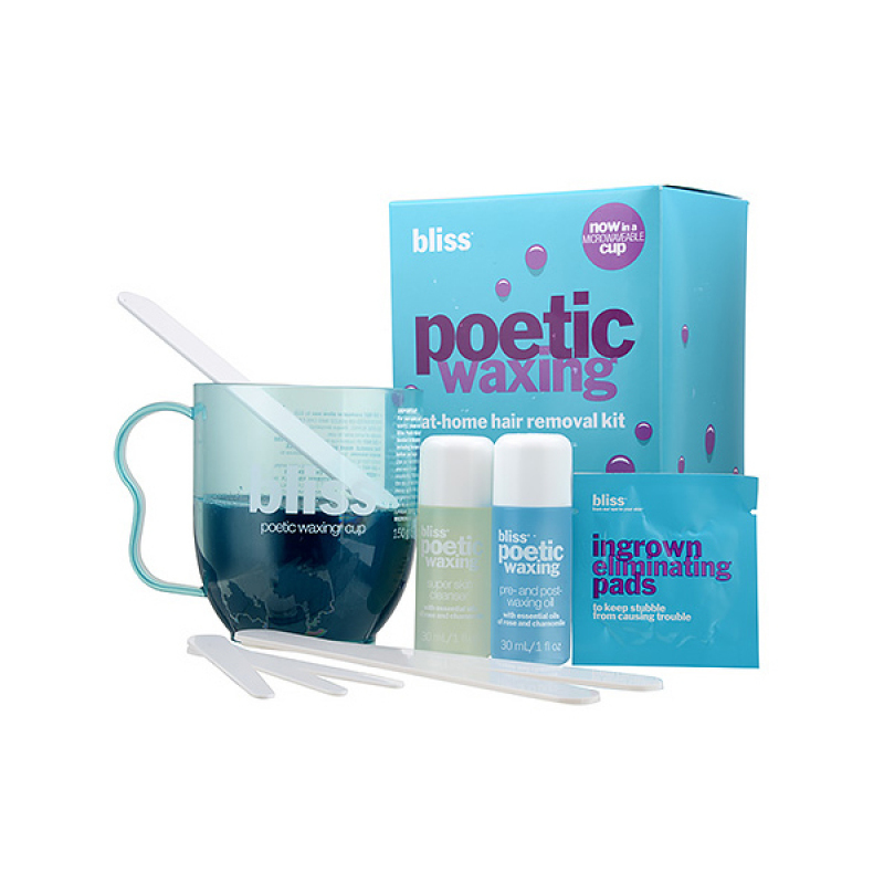 Buy Bliss Poetic Waxing At-Home Hair Removal Kit 1set Singapore