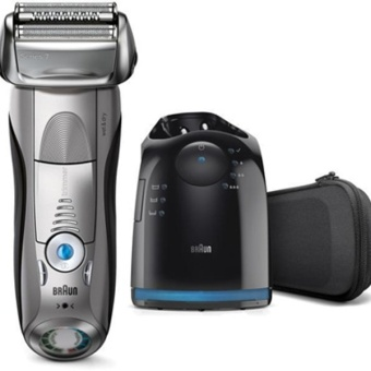 Braun Series 7 - 7899 CC Wet & Dry Noble Metal/Black