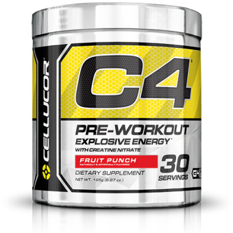 Harga Cellucor Fourth Generation C4 Pre-Workout Fruit Punch (30s)
