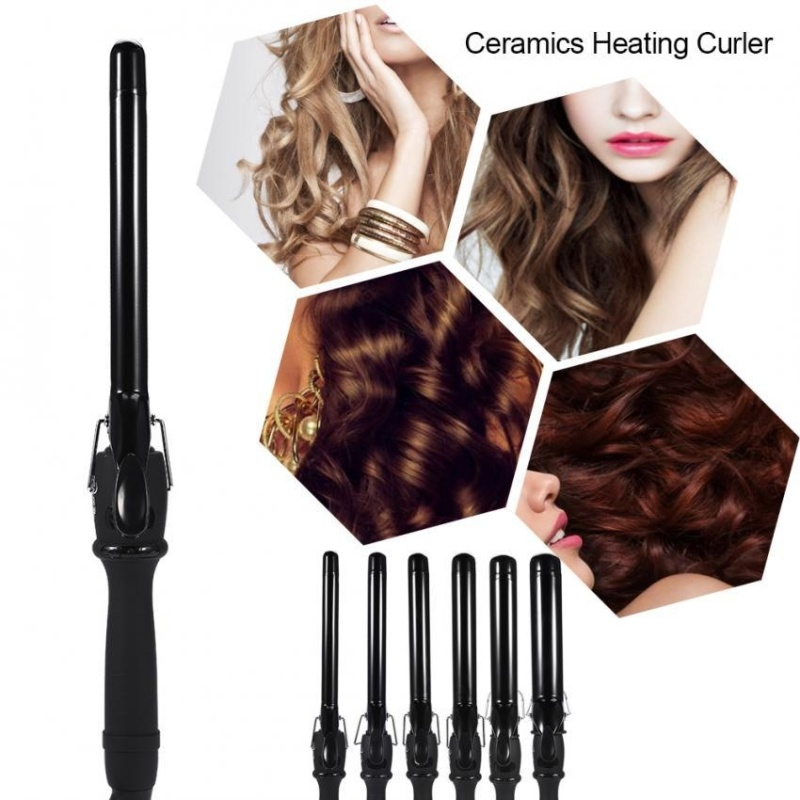 Buy Ceramic Tube Shape Deep Curly Heating Curling Iron Hair Wave Curler 19mm - intl Singapore