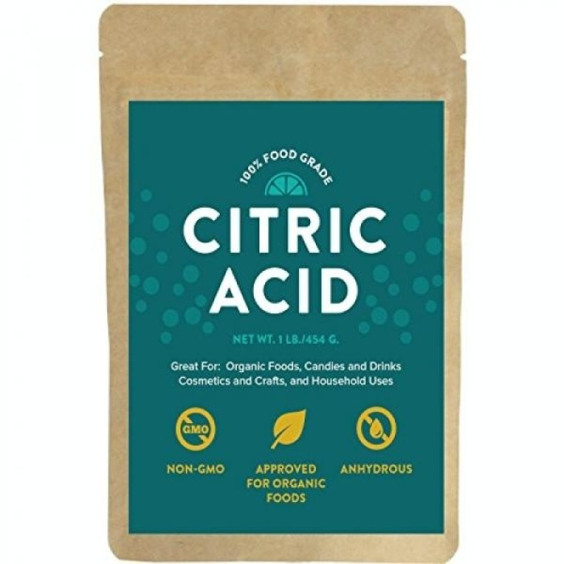 Buy Citric Acid - For Bath Bombs, 1 Pound, 100% Food Grade Powder, Non-Gmo, Approved For Organic Foods, Cosmetics, Crafts and More! - intl Singapore