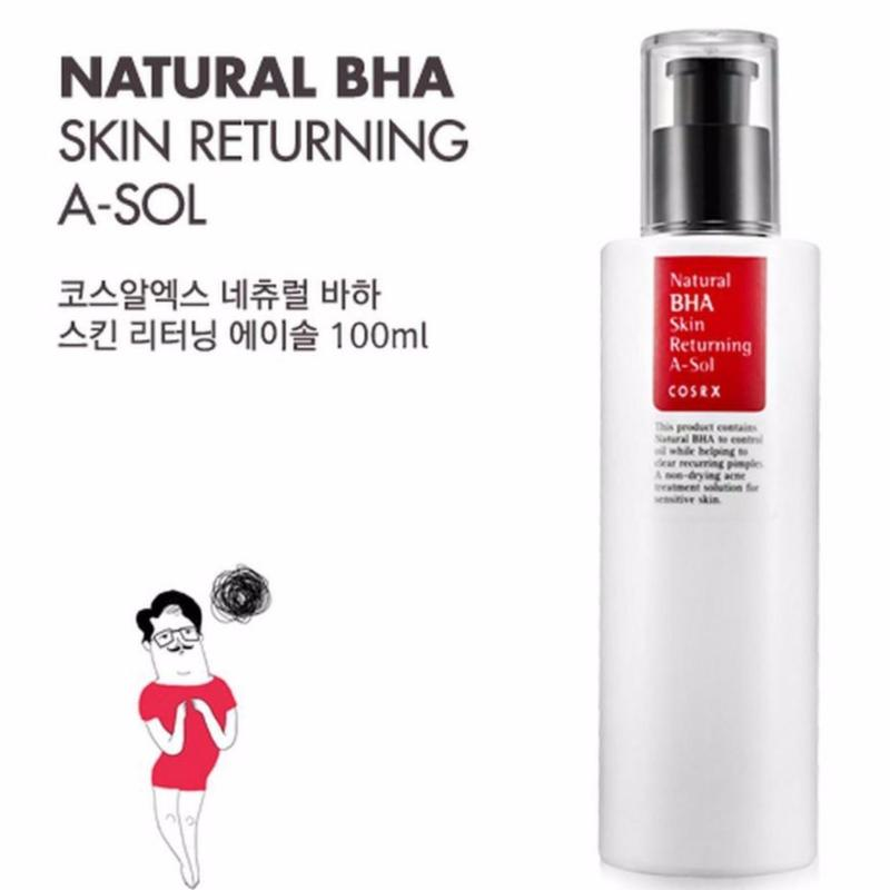 Buy COSRX Natural BHA Skin Returning A-SOL 100ml Singapore