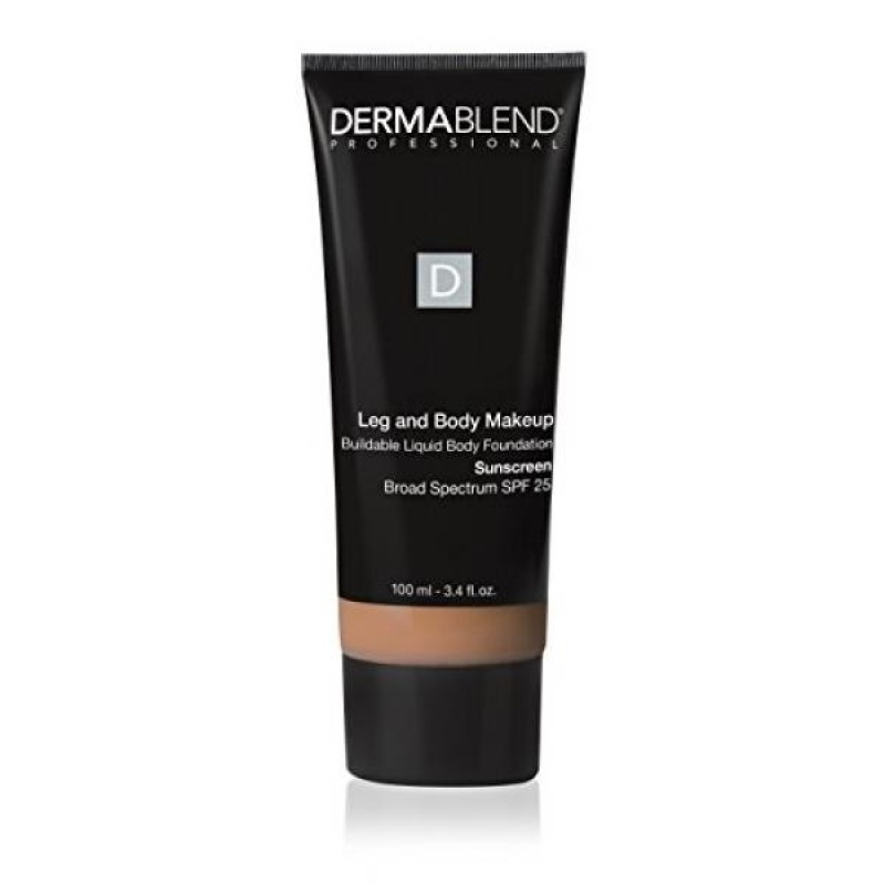 Buy Dermablend Leg and Body Makeup Liquid Foundation with SPF 25 for Medium Coverage & All-Day Hydration, 40n Medium Natural, 3.4 Fl. Oz. - intl Singapore