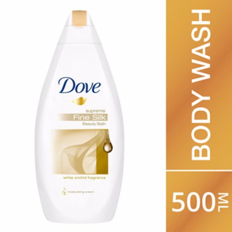 Buy Dove Bath file silk 500ml Singapore