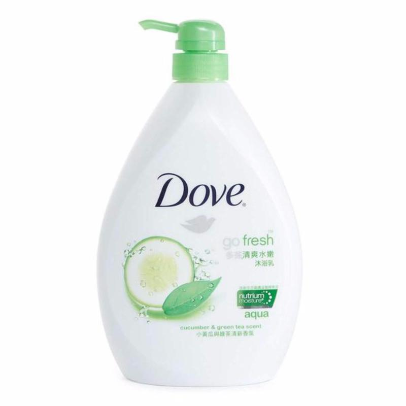 Buy Dove Body Wash Go Fresh Aqua 1000ml Set of 2 Singapore