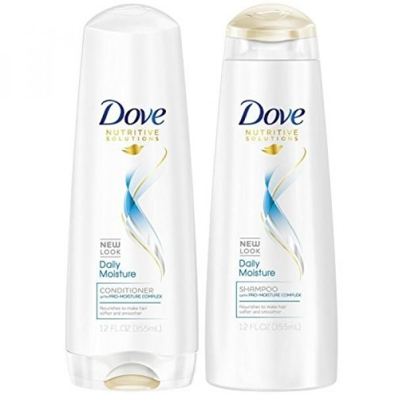 Buy Dove Daily Moisture Shampoo and Conditioner 12oz Combo SET **Package May Vary** - intl Singapore