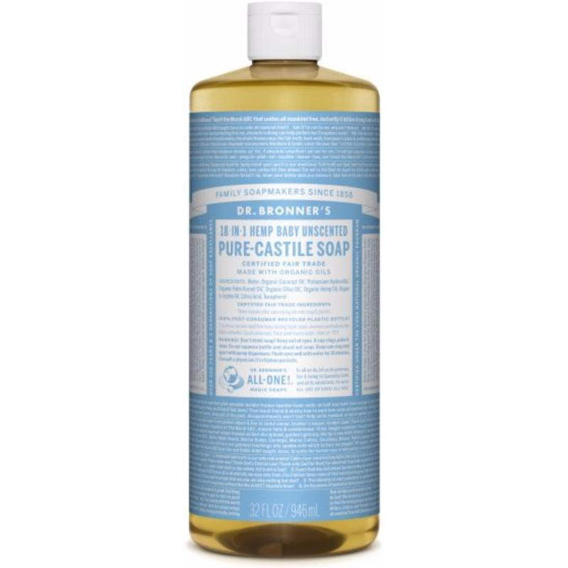 Buy Dr Bronners Organic Magic Castile Soap - Baby Unscented 32oz Singapore
