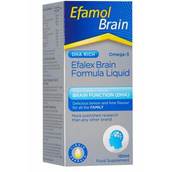 Harga Efamol Efalex Brain Liquid 150mL