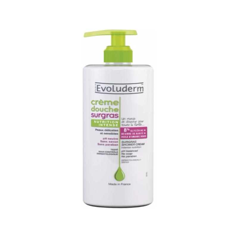 Buy EVOLUDERM SUGRAS NUTRITION SHOWER CREAM 500ML TWIN PACK Singapore