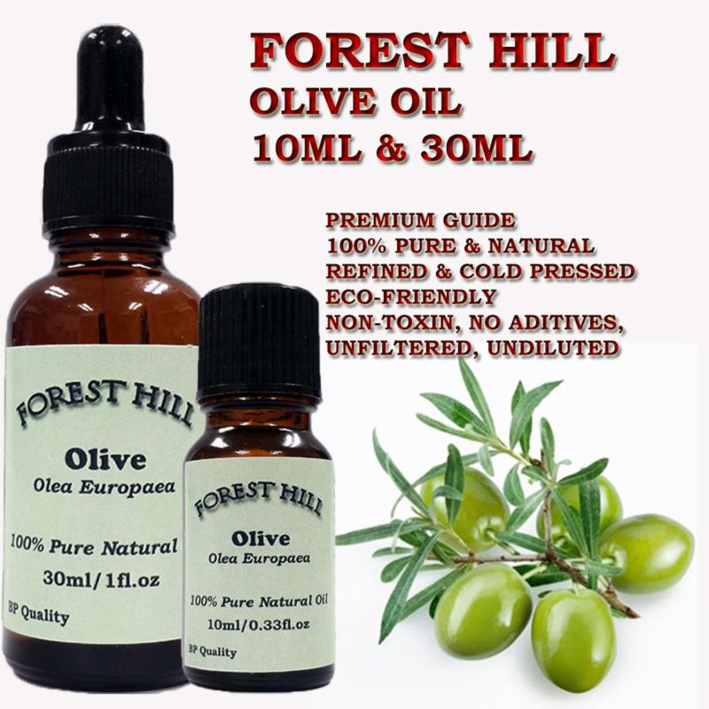 Buy Forest Hill 100% Pure Natural Carrier Oil, Olive 10ml Singapore