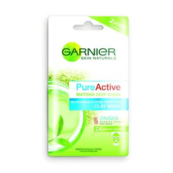Harga Garnier Pure Active Matcha Clay Mask