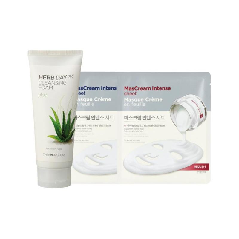 Buy Holiday Edition Herbday Cleanser Set (Aloe) Singapore
