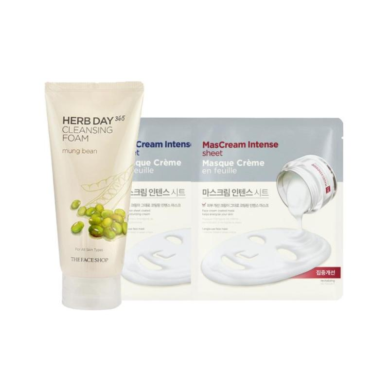 Buy Holiday Edition Herbday Cleanser Set (Mung Bean) Singapore