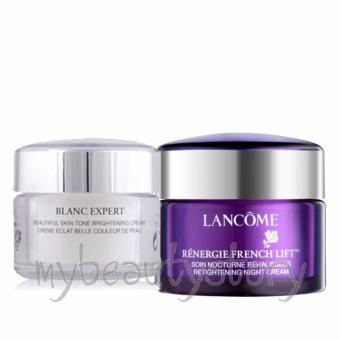 Lancome Blanc Expert Beautiful Skin Tone Day Cream 15g and Renergie French Lift 15g