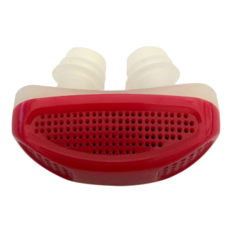 Harga USTORE New Anti Snore Nose Clip Breathe Easy Care Relieve Snoring Aid Apparatus Rose red