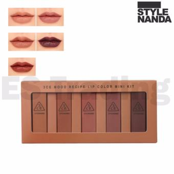 Harga 3CE MOOD RECIPE LIP COLOR MINI KIT (5 color set) - intl