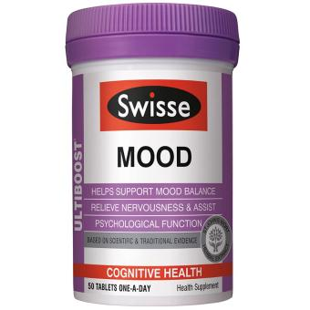 Harga Swisse Ultiboost Mood Supplement 50 Tablets