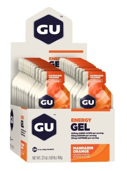 Harga GU Energy Gel Mandarin Orange 24 Pack With Free Gift