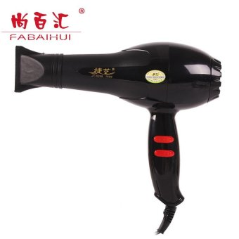 Harga High power 1600W 5 Speed cold and Hot Air Hair Dryer-Black(HD-15) - intl