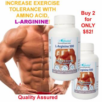 Harga GET Effective L-Arginine 500 (1+1)