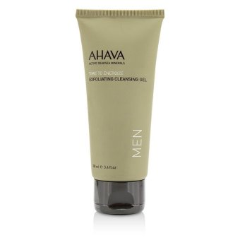 Harga Ahava Time To Energize Exfoliating Cleansing Gel (Unboxed) 100ml/3.4oz