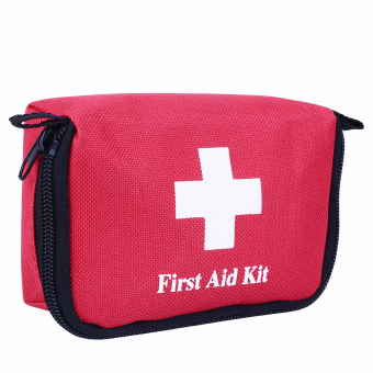 Harga Travel First Aid Kit Bag Home Small Emergency Medical Treatment Rescue Box - intl