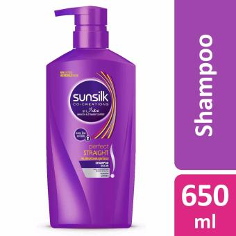 Harga Sunsilk Co-Creations Perfect Straight Shampoo 650ml