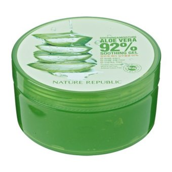 Harga Nature Republic Soothing and Moisture Aloe Vera 92% Soothing Gel 300ml x 3 tubs